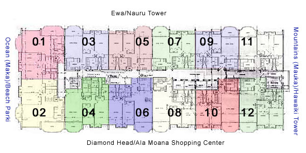 1350 Ala Moana Honolulu Hawaii Condo By Hicondos Com