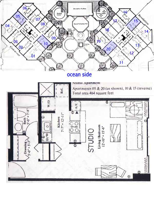 Discovery Bay Center Honolulu Hawaii Condo By