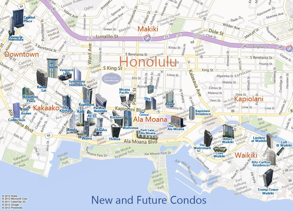 honolulu hawaii real estate condominium guide by hicondos